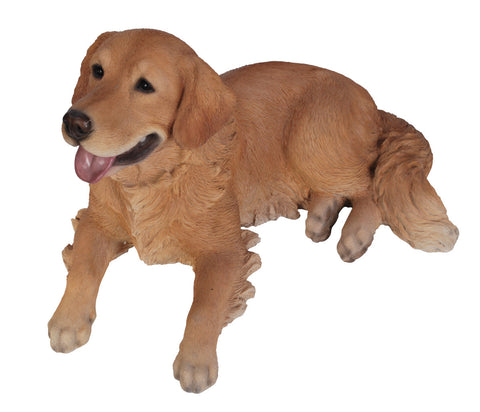 Golden Retriever Dog Statue