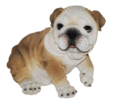 Sitting Bulldog Statue