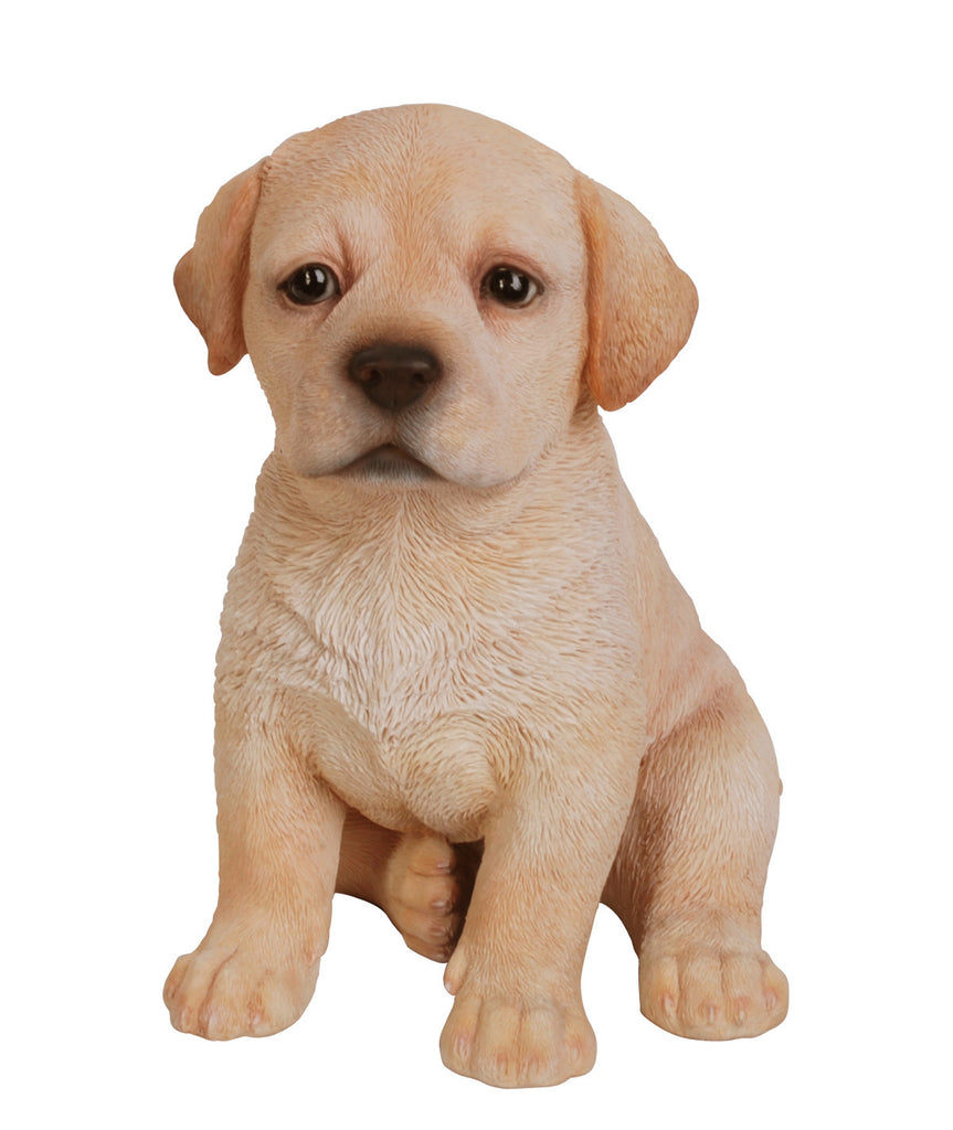 Golden Labrador Puppy Statue