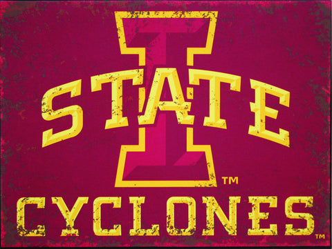 Iowa State Cyclones Sign