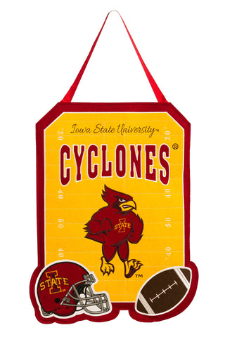Iowa State Cyclones Door Decor