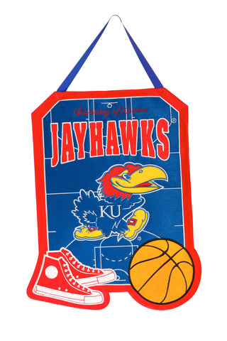 Kansas Jayhawks Door Decor