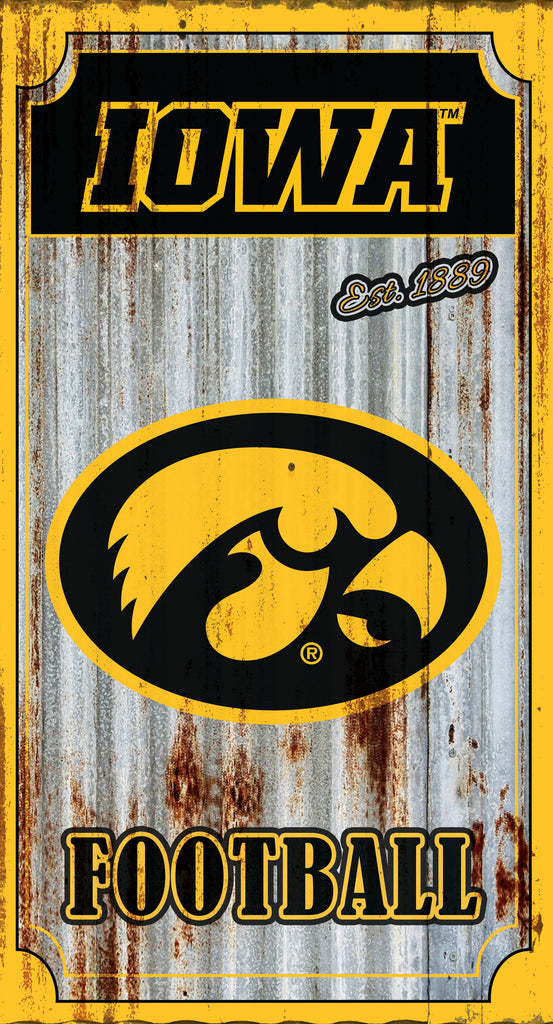 Iowa Hawkeye Metal Wall Art