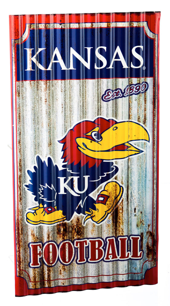 Kansas Jayhawks Metal Wall Art