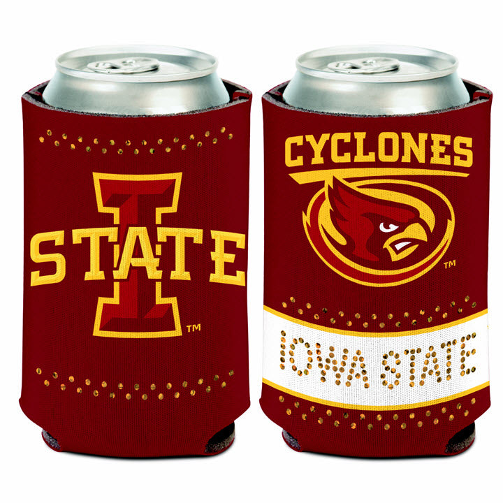 Iowa State Bling Can Cooler