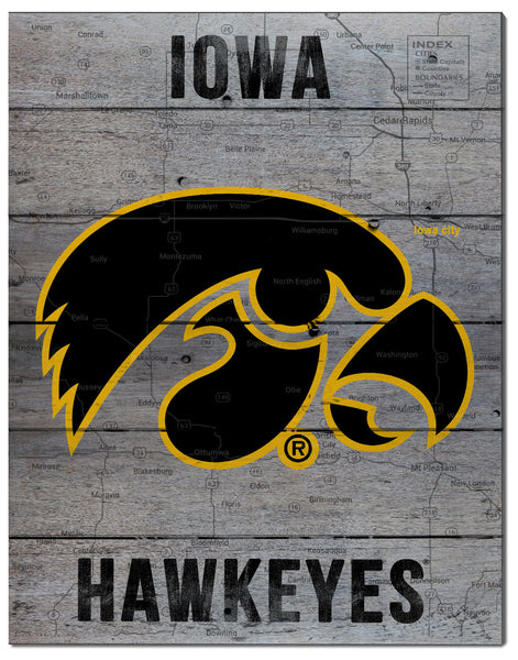 Iowa Hawkeye Road To Victory Pallet Decor Shop Earl May
