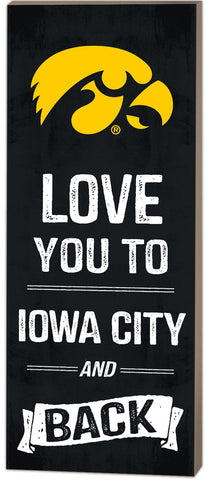 Iowa Hawkeyes Sign