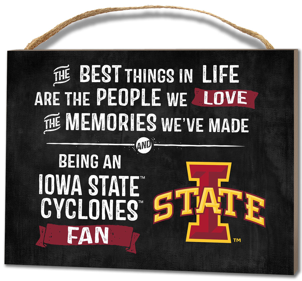 Iowa State Plaque