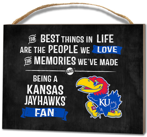 Kansas Jayhawks Plaque