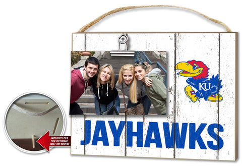 Kansas Jayhawks Clip It Plaque