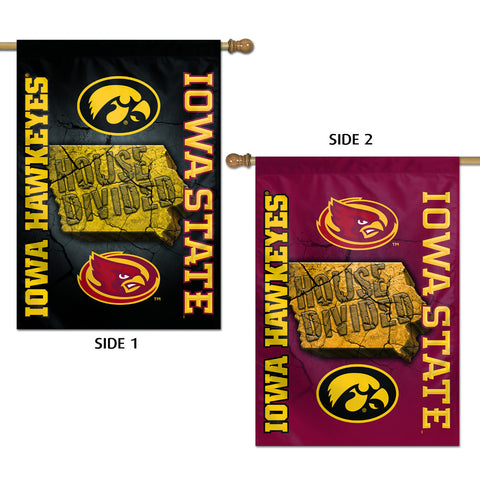 Iowa/Iowa State House Divided Flag