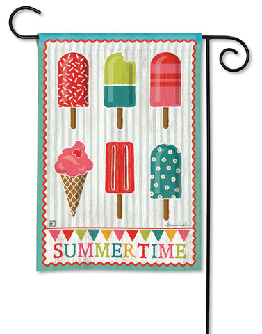 Garden Flag - Cool Treats Summertime