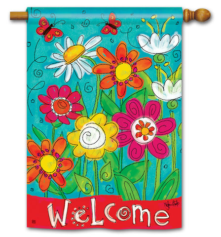 Art Flag - Welcome
