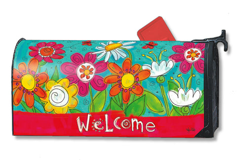 Mailbox Wrap - Welcome Blooms