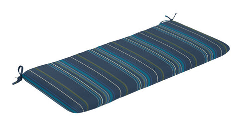 Bench Cushion - Stanton Blue Lagoon Stripe - Ship to Store - Pickup In Store Only