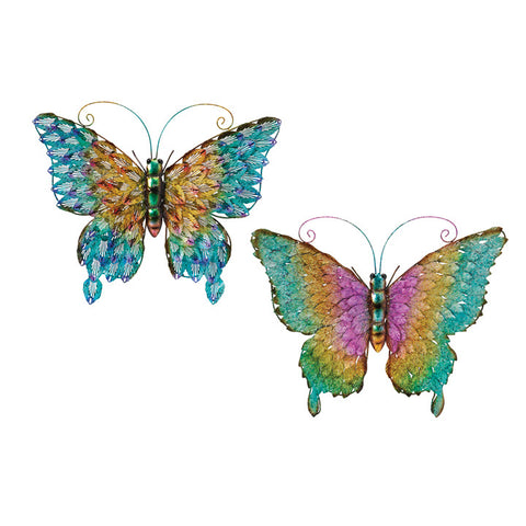 Lacy Wing Butterfly Wall Decor