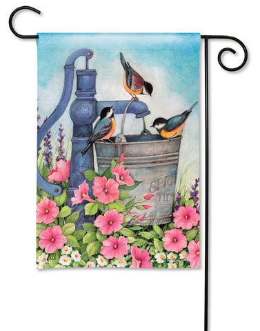 Birds of Spring Garden Flag
