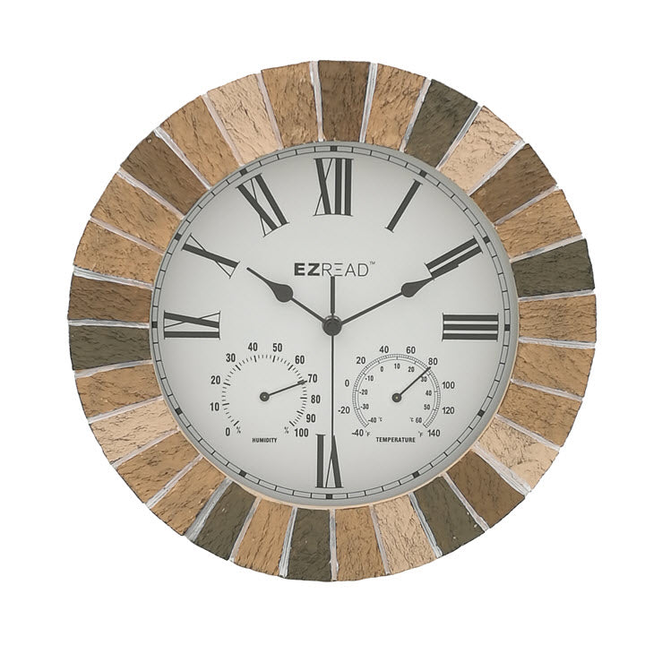 Mosaic Stone Stock with Thermometer