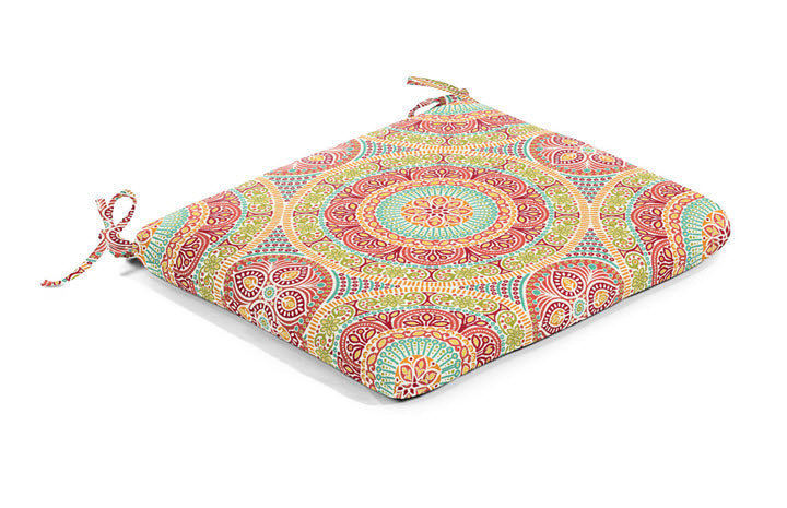 Seat Cushion - Bright Delancey Jubilee - Ship to Store - Pickup In Store Only