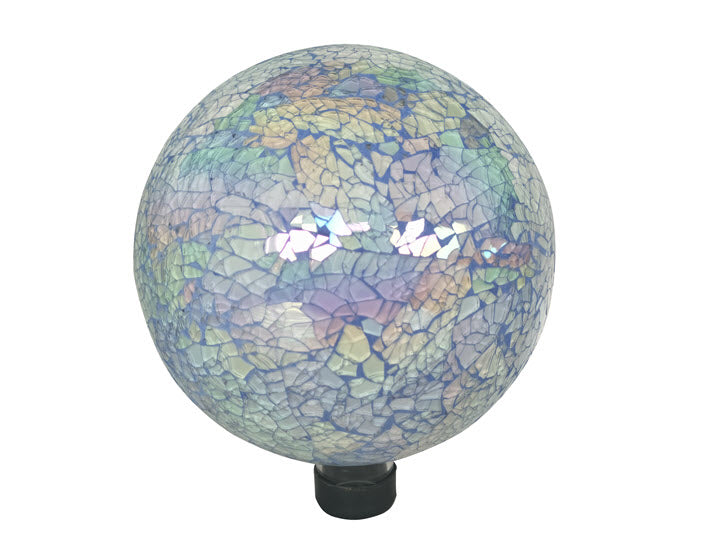 Mosaic Iridescent Gazing Ball
