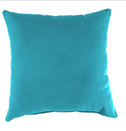 Throw Pillow - Turquiose