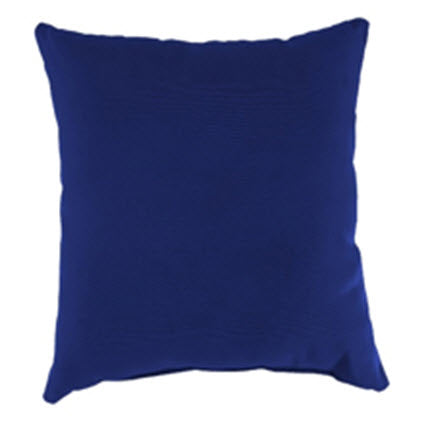 Throw Pillow - Cobalt