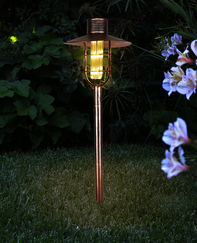Bronze Solar Pathway Light Stake