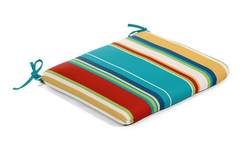 Seat Cushion - Fiesta Stripe - Ship to Store - Pickup In Store Only