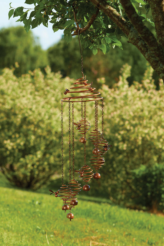 Beehive Spiral Bell Chime - Ship to Store - Pickup In Store Only