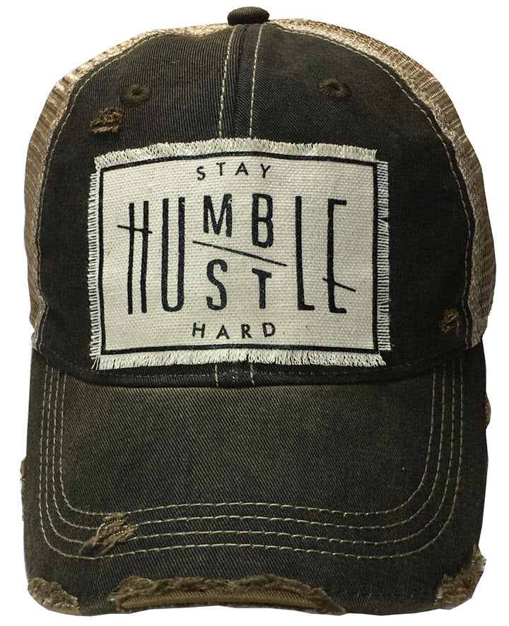Trucker Hat - Stay Humble Hustle Hard
