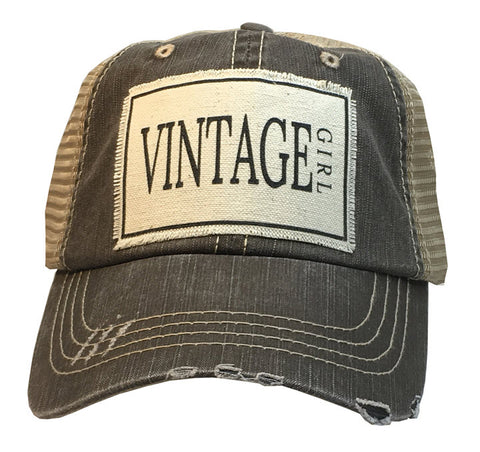 Trucker Hat - Vintage Girl