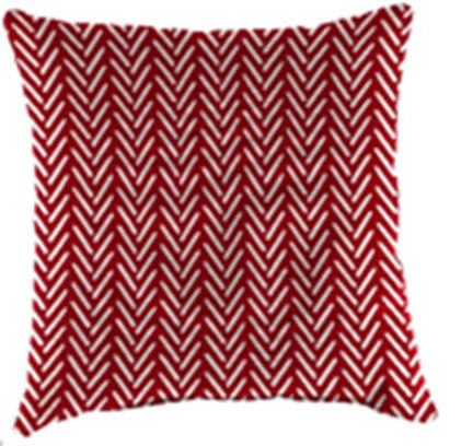 Throw Pillow - Afton Red