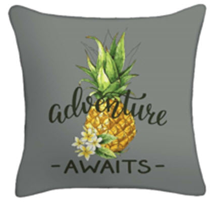 Throw Pillow - Pineapple Adventure