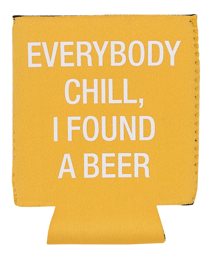 Koozie - Chill Found A Beer