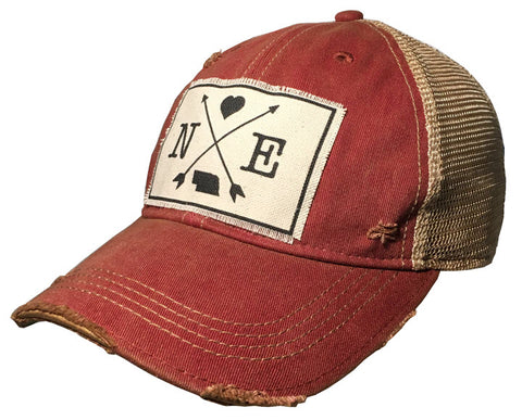 Trucker Hat - Nebraska Arrows