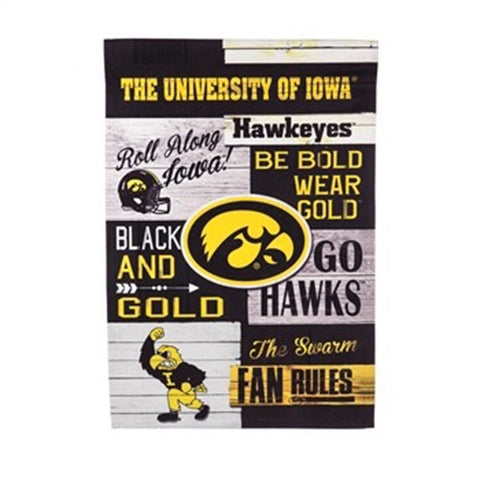 Garden Flag - Iowa Fan Rules