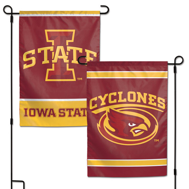 Garden Flag-Iowa State with Cyclones
