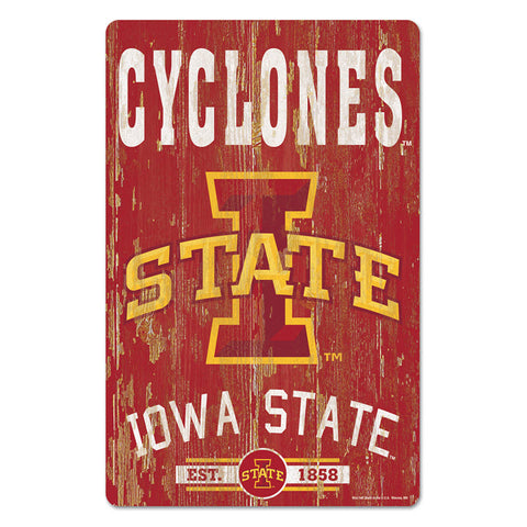 I State Cyclone Wall Decor
