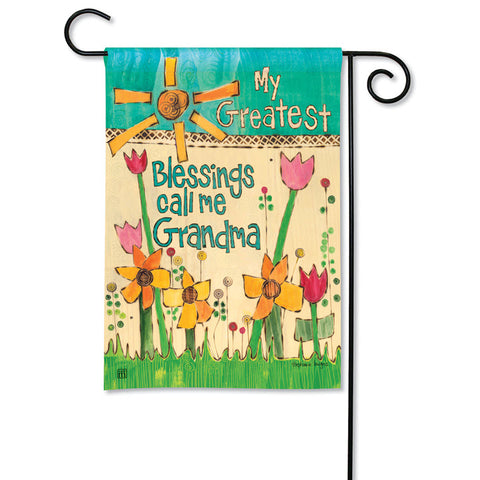 Garden Flag - Greatest Blessings Grandma