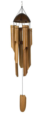 Wind Chime Coconut Bamboo