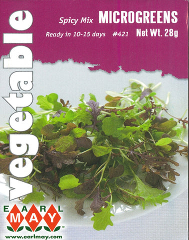 Microgreens - Spicy  Mix Seeds