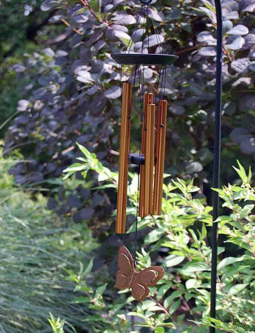BRONZE BUTTERFLY CHIME