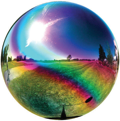 Mystic Mirror Gazing Ball 12""