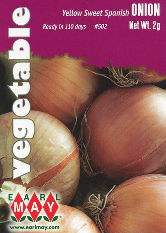 Yellow Sweet Spanish Onion Seeds