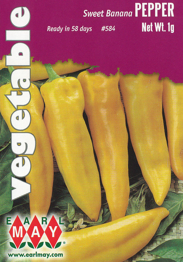 Sweet Banana Peppers Seeds