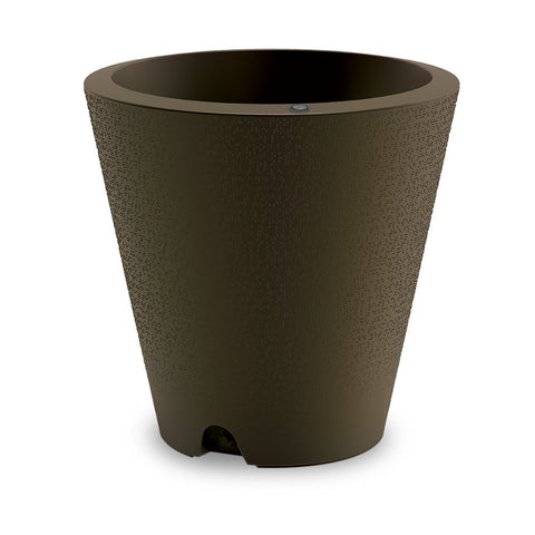 Crescent TruDrop Dot Planter Old Bronze - Pickup In Store Only