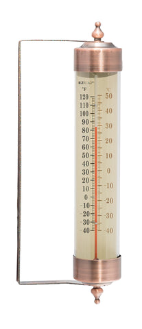 Oil Rubbed Bronze EZRead Premium Thermometer