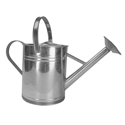 Watering Can - Galvanized Steel with Copper Trim