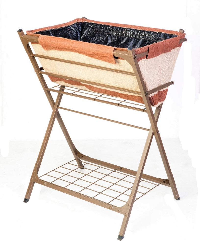 Raised Grow Bag on Stand