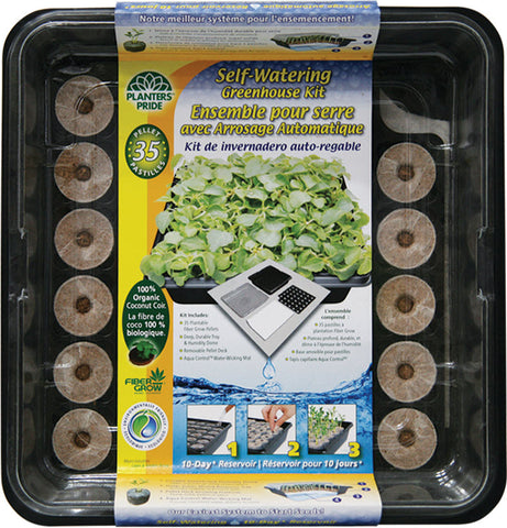 Self-Watering Greenhouse Kit